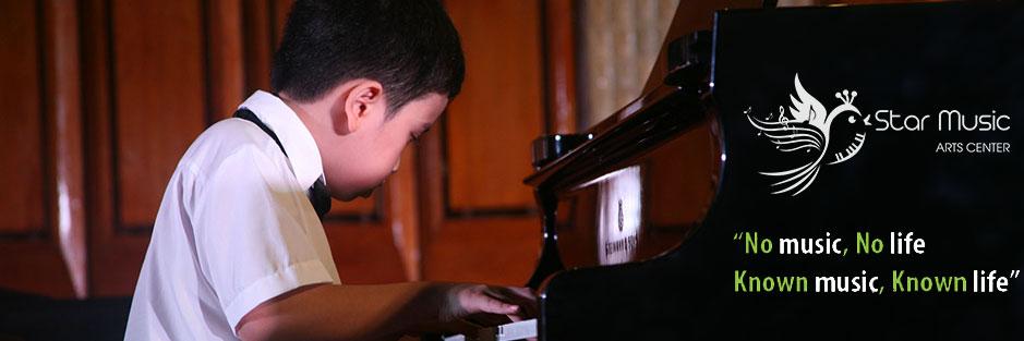 Học đàn piano và organ trẻ em tại Linh Đàm