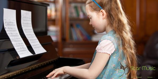 Phương pháp dạy đàn piano cho trẻ khi chưa biết chữ