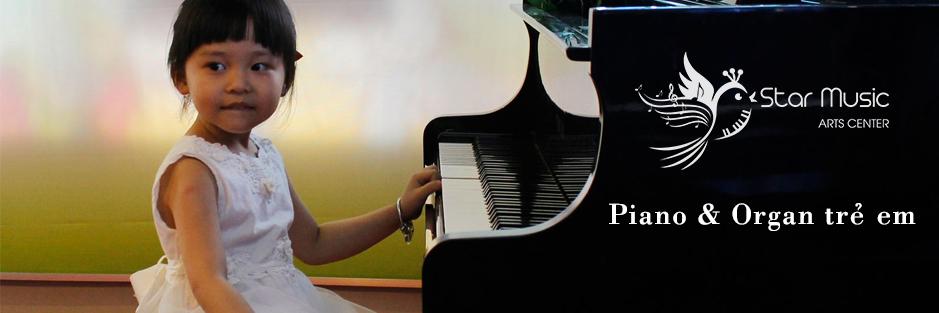 Lớp học piano và organ trẻ em